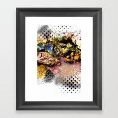 I Heart Rocks Framed Art Print