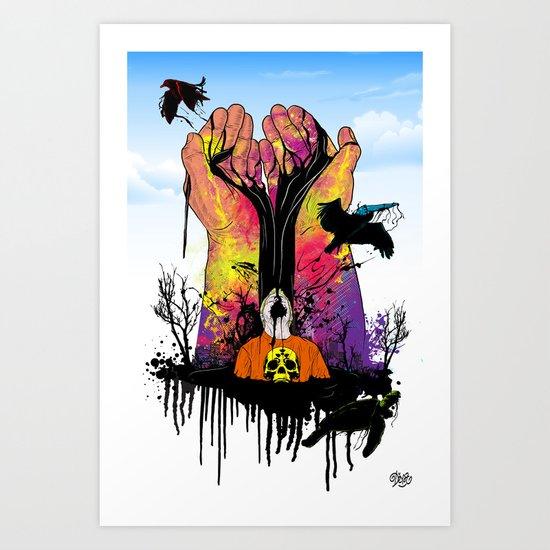 Hope for Better Life Art Print