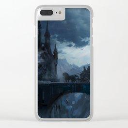 Dark castle Clear iPhone Case
