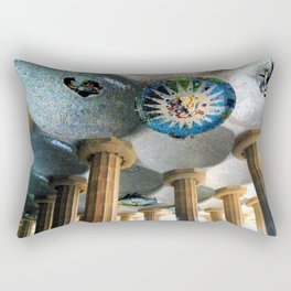 Gaudi Series - Parc Güell No. 2 Rectangular Pillow
