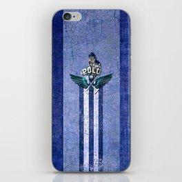 poloplayer blue iPhone Skin