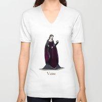 valar morghulis V-neck T-shirts featuring Vaire by wolfanita