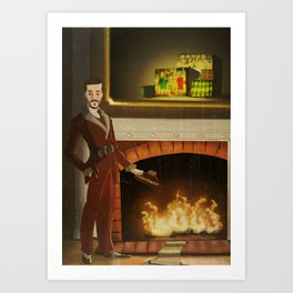 No.2 Christmas Series 1 - The Early-Mid Years Art Print