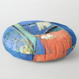 Henri Matisse The Casbah Gate Floor Pillow