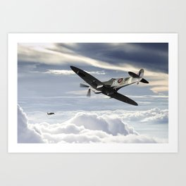 "Spitfire FY-F ""Sinker"" Art Print"