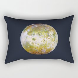 Portrait of Io (with plume) Rectangular Pillow