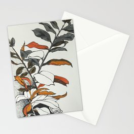 70s flowers Stationery Cards