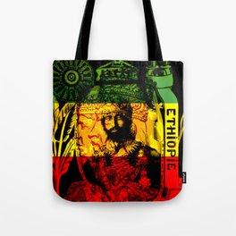 Haile Selassie Lion of Judah Tote Bag