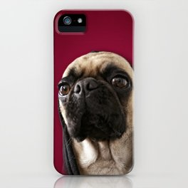 Lola on Red iPhone Case