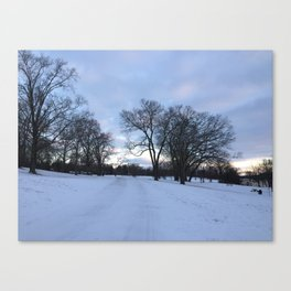 Ohio Winter Wonderland Canvas Print
