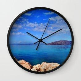 Island of Krk in Croatia Wall Clock