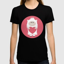 Little Yeti, Big Heart T-shirt