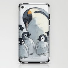 Penguin family 515 iPhone & iPod Skin
