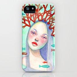 Coralie iPhone Case