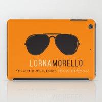 oitnb iPad Cases featuring Lorna Morello #2 | OITNB by Sandi Panda