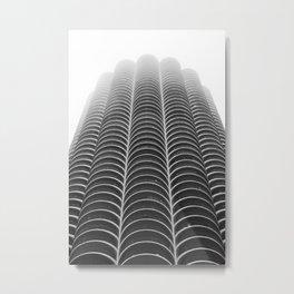 Foggy Chicago Morning 005 Metal Print