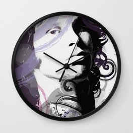Digital art of J. Morrison Wall Clock