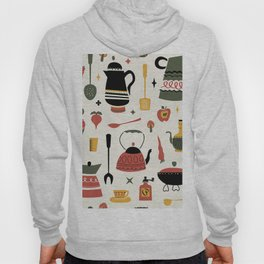 Kitschy Kitchen in Olive Hoody