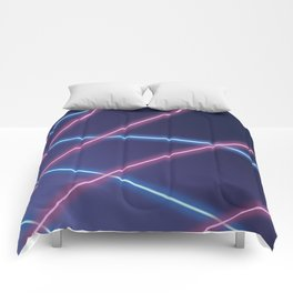 Laser Class Photo Backdrop Comforters