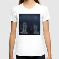 victorian T-shirts featuring Victorian Haunt by Little Bunny Sunshine