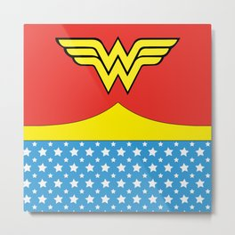 Wonderwoman Metal Print