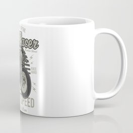 Caferacer Motorcycle Vintage Poster Coffee Mug