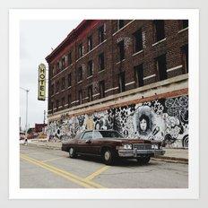 Hotel Roosevelt - Detroit, MI Art Print