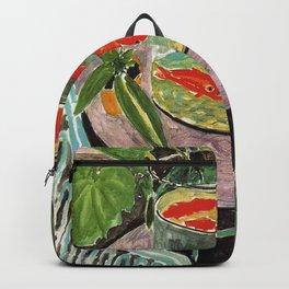 Henri Matisse Goldfish 1911, Goldfishes Artwork, Men, Women, Youth Backpack