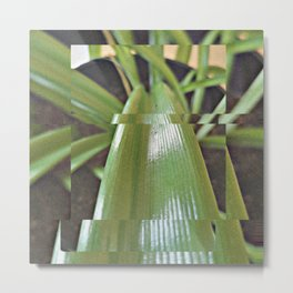 geometric plant Metal Print
