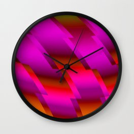Abstract 105 DDS Wall Clock