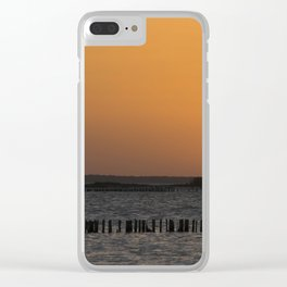 Sunset, Mexico Clear iPhone Case