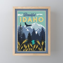 Beautiful Idaho Framed Mini Art Print