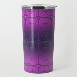 Purple Shades Tapa Design Travel Mug