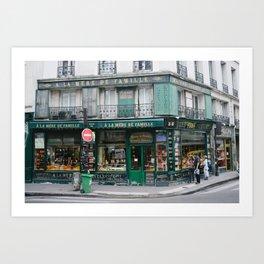 A La Mere De Famille Art Print