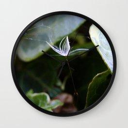 Lonesome Dandelion Wall Clock