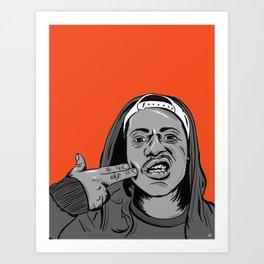 ASAP FERG Art Print