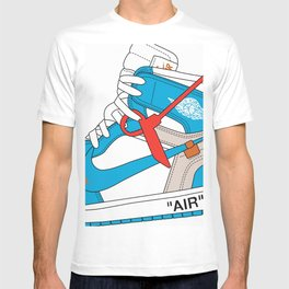 Jordan 1  Of White Poster T-shirt