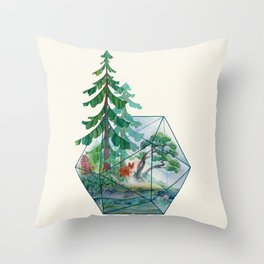 Mainerrarium Throw Pillow