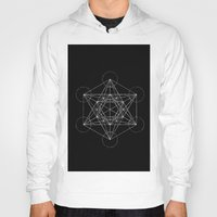 sacred geometry Hoodies featuring Sacred Geometry Print 4 by poindexterity