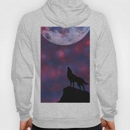 Wolf's Night Sky Hoody