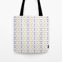 southwest Tote Bags featuring Southwest Triangles by Kara Peters