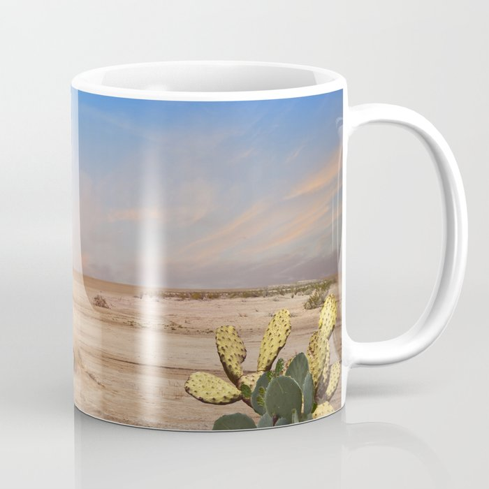Old Gas Pump in Desert Coffee Mug by charker