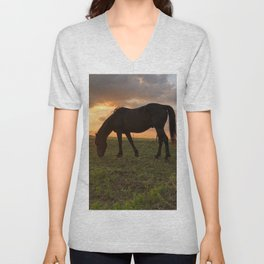 Mustang Magic Unisex V-Neck
