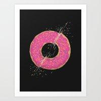 Donut Slices Art Print