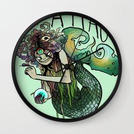 Sea Hag Wall Clock