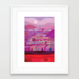 DuBoce Triangle Framed Art Print