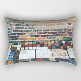 City Sidewalk Rectangular Pillow