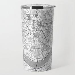 Seoul Map Line Travel Mug