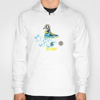 sneaker Hoodies featuring Jump, Dance, Sneaker, Hip Hop by MiartDesignCreation