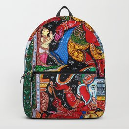 Hindu Ganesha 4 Backpack